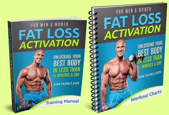 Fat Loss Activation book cover