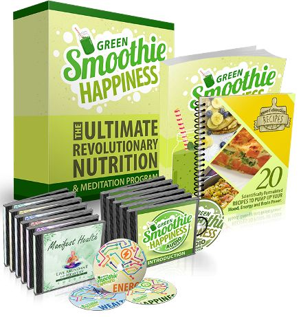 Green Smoothie Happiness ebook cover