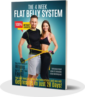 4 Week Flat Belly e-cover