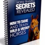 Horse Training Secrets Revealed ebook cover
