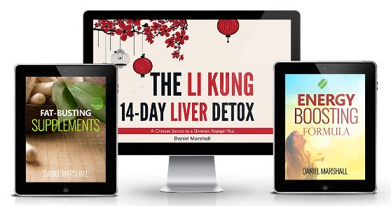The Li Kung 14-Day Liver Detox ebook cover
