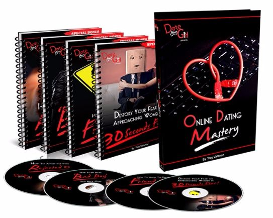 Online Dating Mastery ebook cover