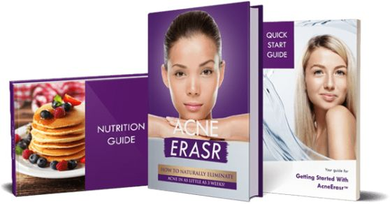 The Acne Erasr System ebook cover