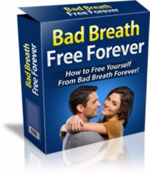 Bad Breath Free Forever ebook cover