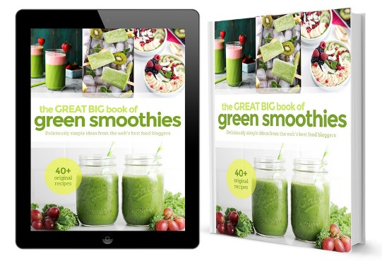 Great Big Book of Green Smoothies e-cover