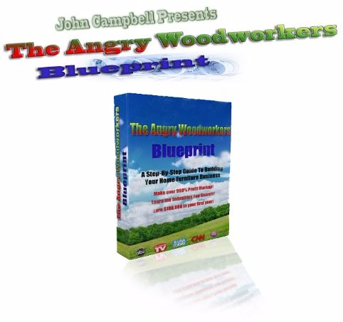 The Angry Woodworkers Blueprint ebook cover
