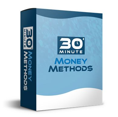 30 Minute Money Methods book cover