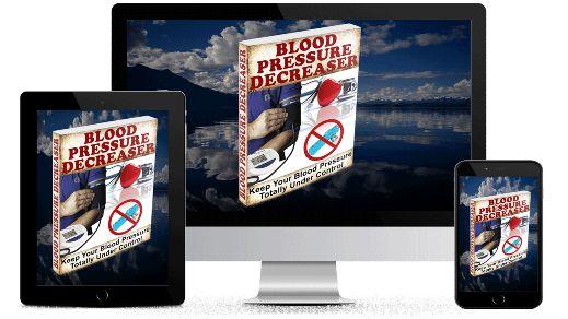 Blood Pressure Decreaser ebook cover
