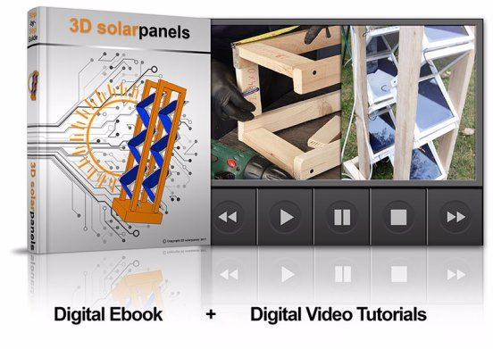 DIY 3D Solar Panels book cover