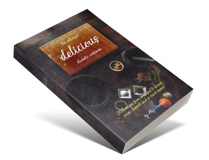 Delicious - Ultimate Diabetic Cookbook e-cover