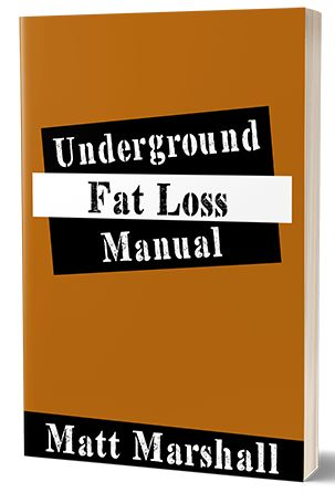 the Underground Fat Loss manual e-cover