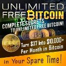 Unlimited Free Bitcoins ebook cover