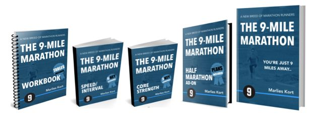 9-Mile Marathon Training ebook cover