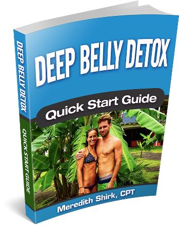 Deep Belly Detox ebook cover