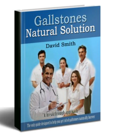 Gallstones Natural Solution ebook cover