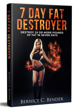 7 Day Fat Destroyer ebook cover