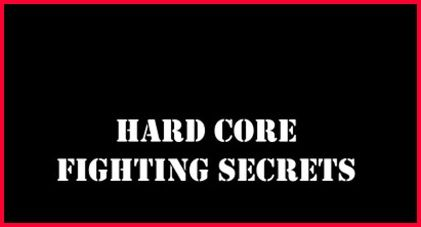 Hardcore Fighting Secrets e-cover