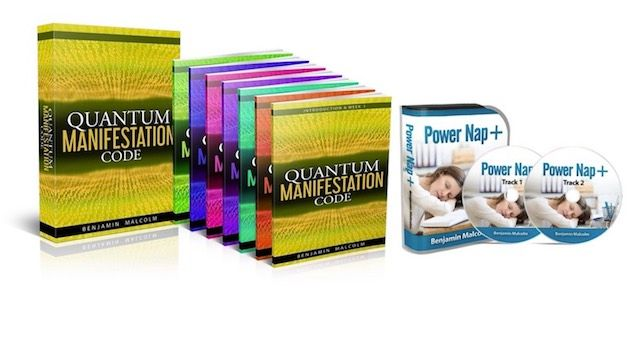 Quantum Manifestation Code book cover