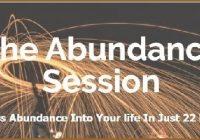 The Abundance Session e-cover