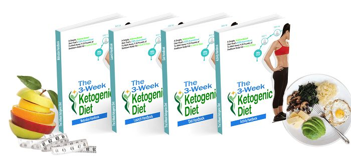 3-Week Ketogenic Diet e-cover