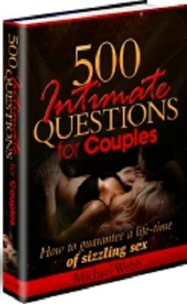 500 Intimate Questions For Couples book cover