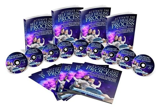 Activate The Self Healing Process Within You book cover