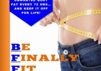 Be Finally Fit ebook cover