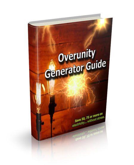 Overunity Generator Guide e-cover