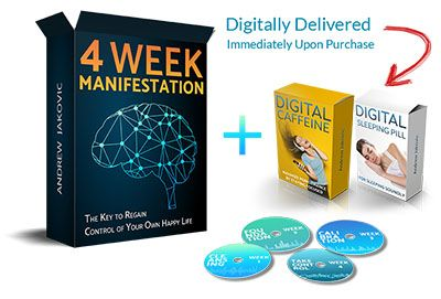 4 Week Manifestation ebook cover