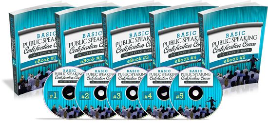Basic Public Speaking Certification