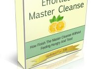Effortless Master Cleanse e-cover