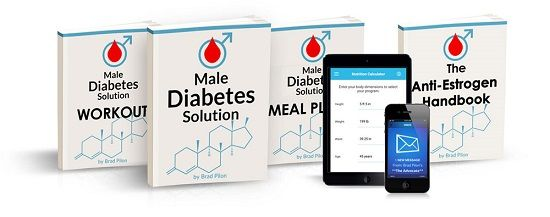Male Diabetes Solution e-cover