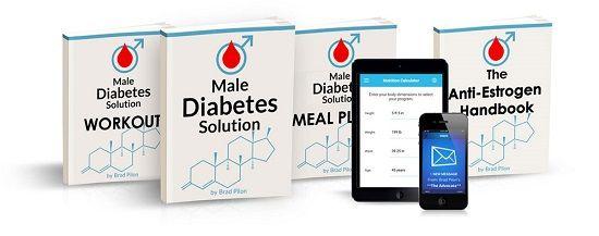 Male Diabetes Solution e-cover