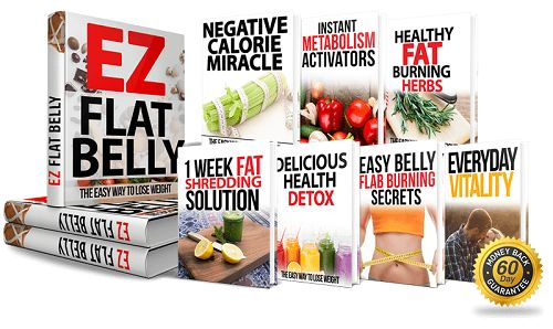 Easy Flat Belly Book Cover