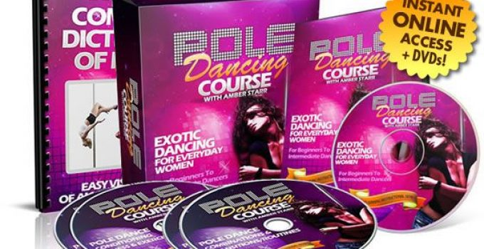 Amber's Pole Dancing course e-cover