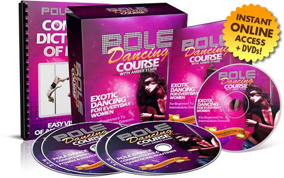Amber's Pole Dancing Course Book Cover