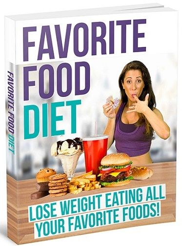 Favorite Food Diet Book Cover