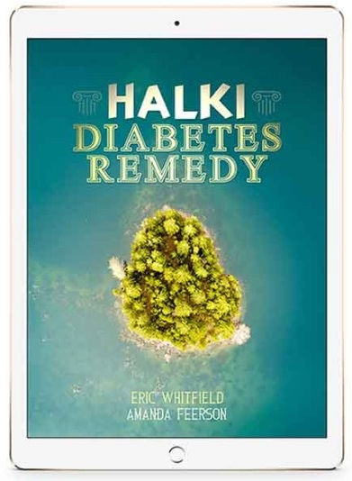 Halki Diabetes Remedy Book Cover