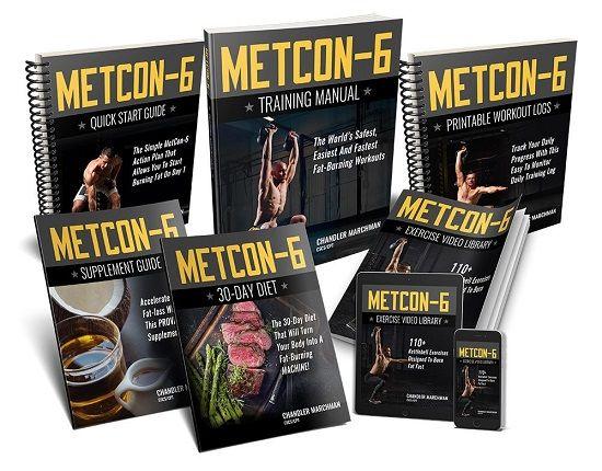 Metcon 6 Book Cover