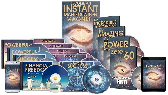 Instant Manifestation Secrets Book Cover