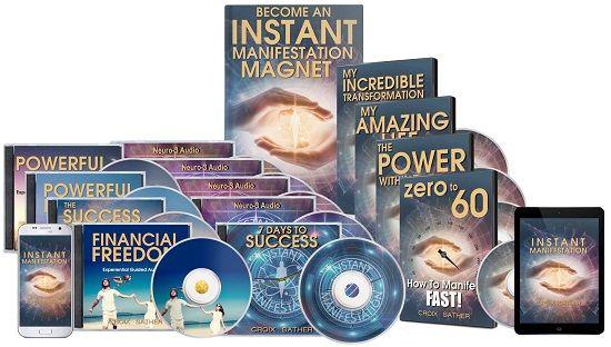 Instant Manifestation Secrets ebook cover