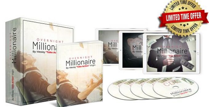 Overnight Millionaire System ebook cover
