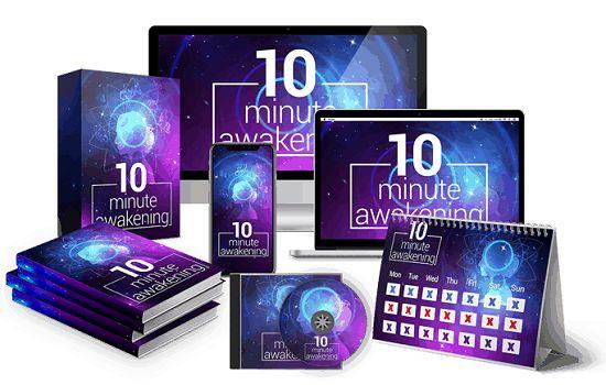 10 Minute Awakening Book Cover