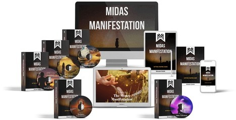 Midas Manifestation Book Cover